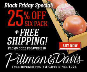Black Friday Sale on Our World-Renowned Premium Citrus. Limited Time Offer.